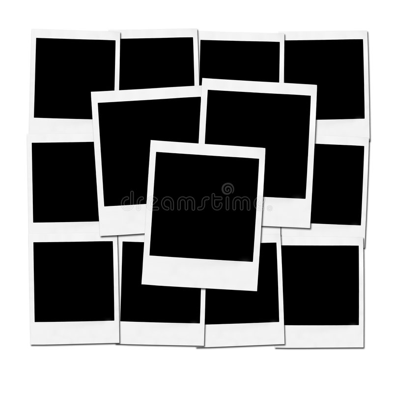 Instant camera frames stock photo. Image of back, frame - 4211712