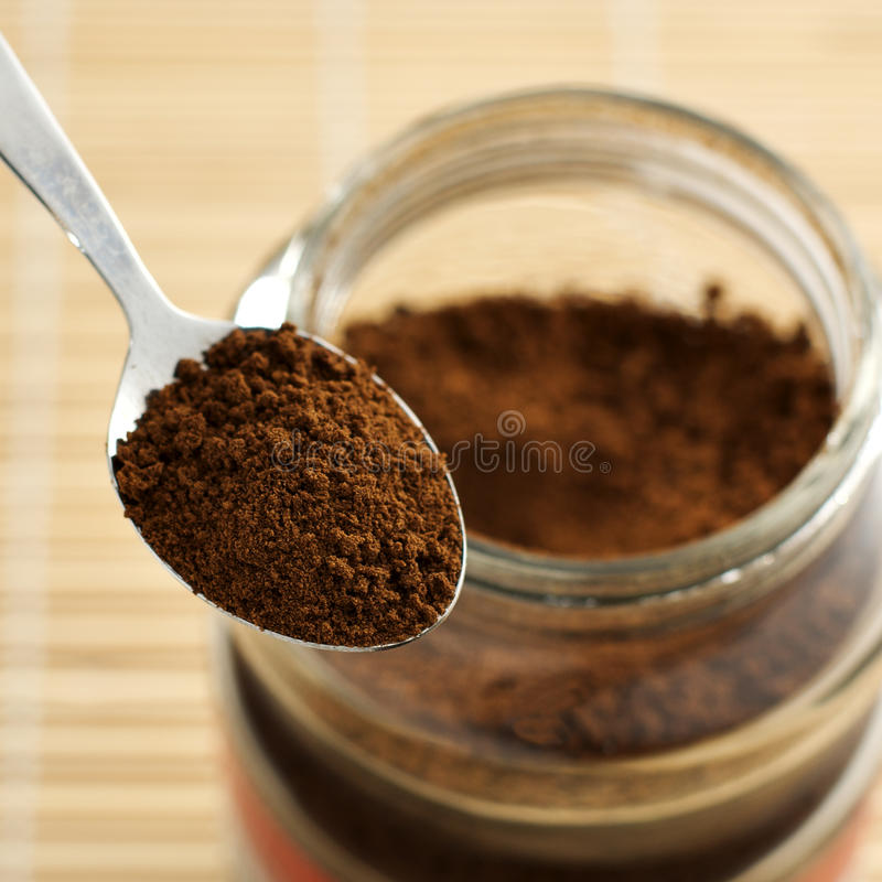 Download Instant Coffee stock photo. Image of bean, fresh, square - 12481558