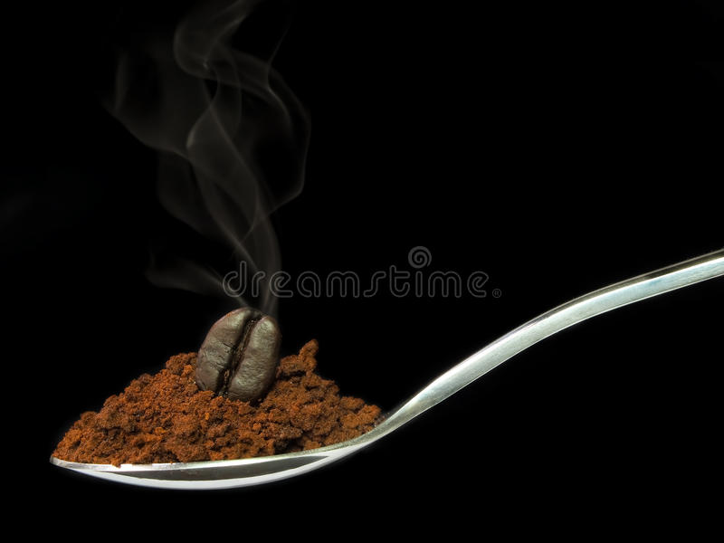 Instant coffee royalty free stock photos