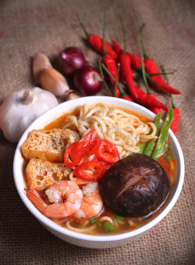 Download Instant Noodle stock photo. Image of curry, noodle, prawn - 36173374