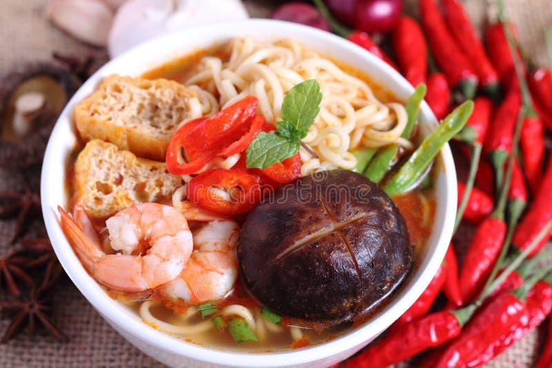 Download Instant Noodle stock image. Image of mushroom, noodle - 36173355
