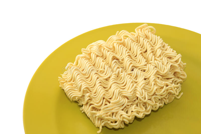 Download Instant noodle on a plate stock photo. Image of eating - 35302248