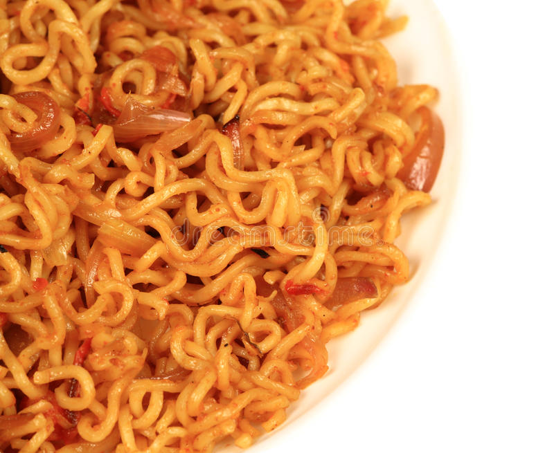 Download Instant noodles stock photo. Image of noodles, delecious - 20989760