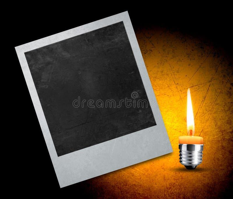 Download Instant photo stock illustration. Image of memory, black - 24206233