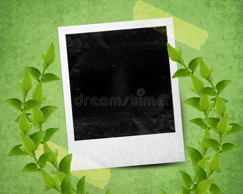 Download Instant photo stock illustration. Image of card, camera - 24301788
