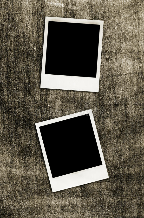 Download Instant photo frames stock photo. Image of blackboard - 19755464