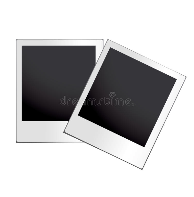 Instant photograph with white border