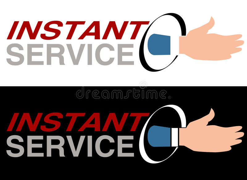 Download Instant Service Royalty Free Stock Image - Image: 17875396