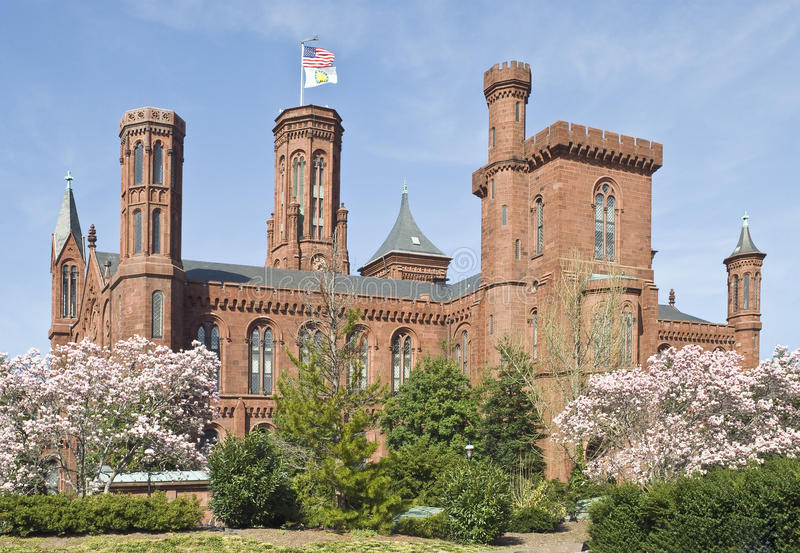 Institución de Smithsonian foto de archivo