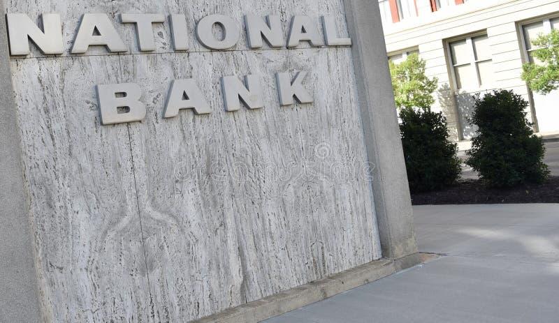 Institución financiera de National Bank fotos de archivo
