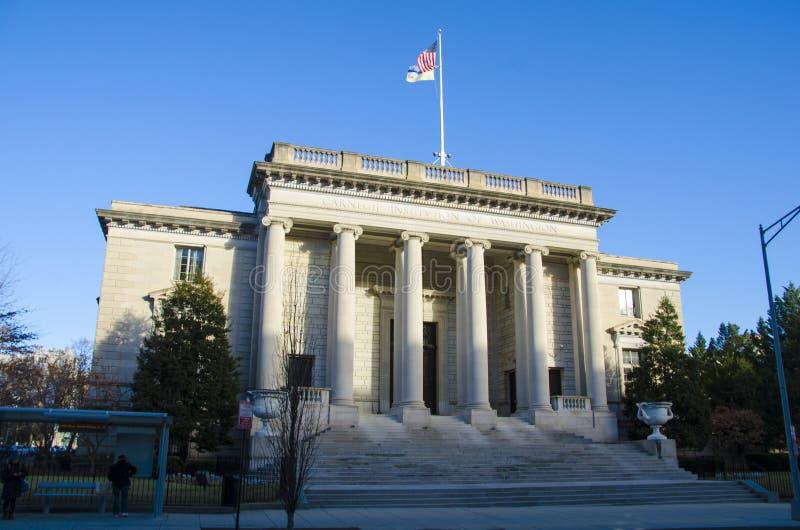 A instituição de Carnegie para a ciência imagens de stock