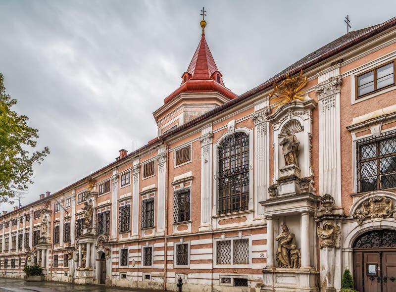 Institut av den välsignade jungfruliga Maryen, Sankt Polten, Österrike royaltyfria foton