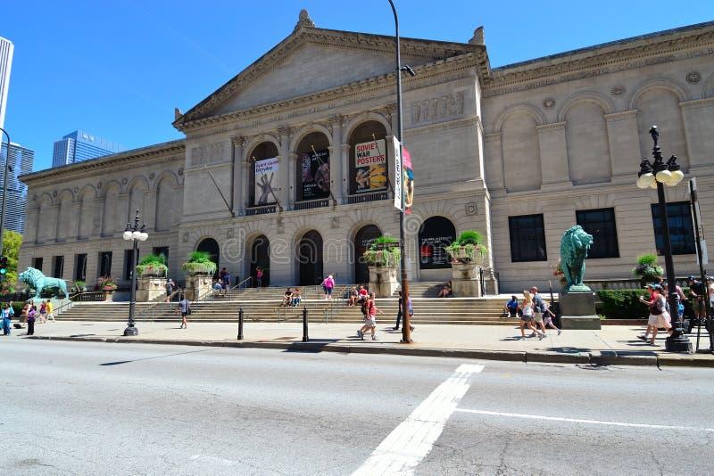 Institut d'art de Chicago photographie stock