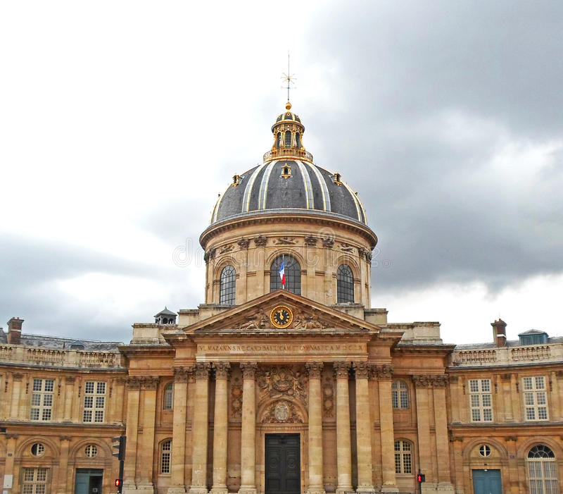 Institut de France fotografia stock