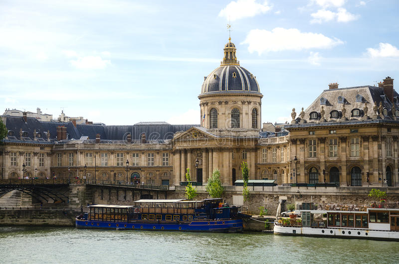 Institut de France a Parigi fotografia stock