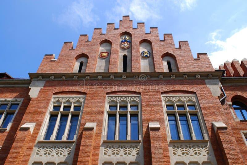 Institut der Geschichte in Krakau, Polen stockbild