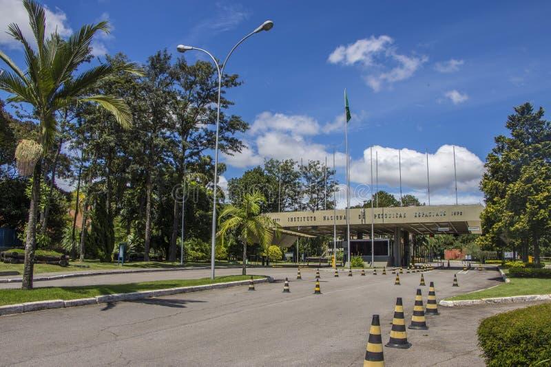 Institut national pour la recherche spatiale (INPE) Brésil photographie stock