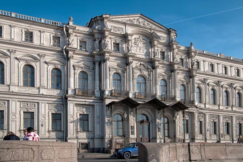 Institutet av orientaliska manuskript i St Petersburg Ryssland royaltyfri bild