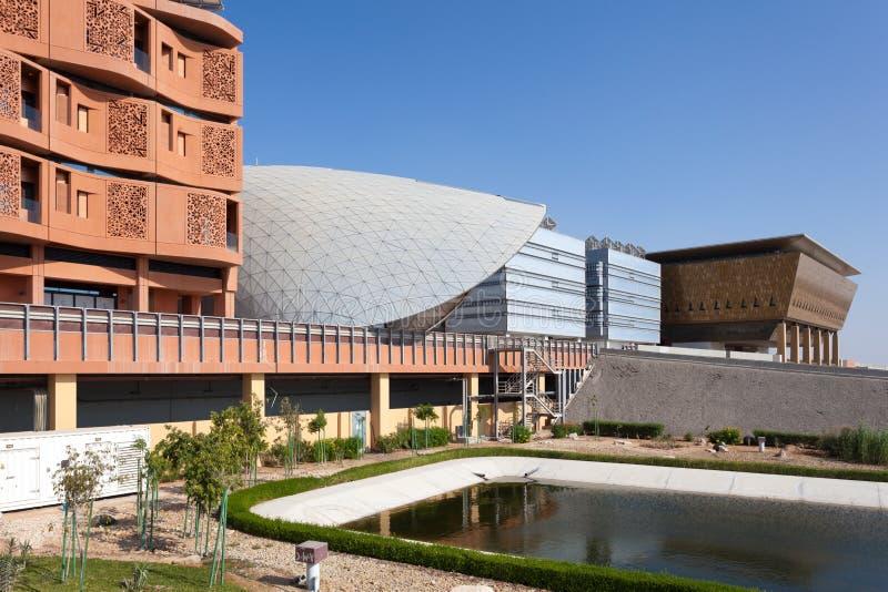 Instituto de Masdar de la ciencia y de la tecnología foto de archivo libre de regalías