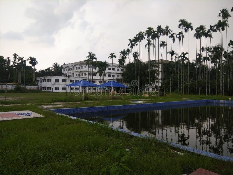 Instituto do ramakrishna de Sri da ciência e da tecnologia fotografia de stock royalty free