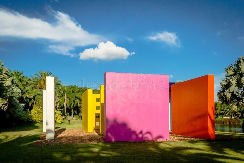 Instituto Inhotim - Brumadinho - Minas Gerais foto de archivo libre de regalías