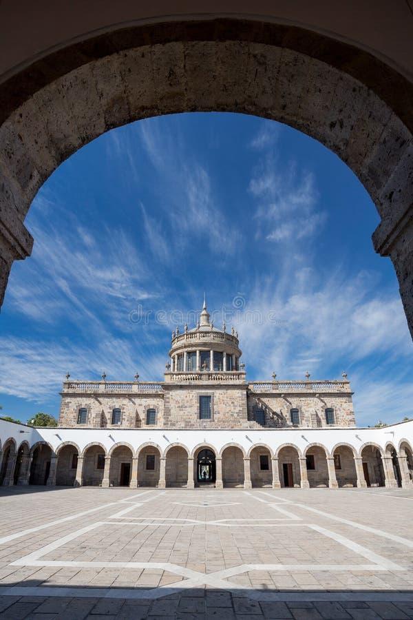 Instituto Kulturalni Cabanas, Guadalajara, Meksyk obraz royalty free