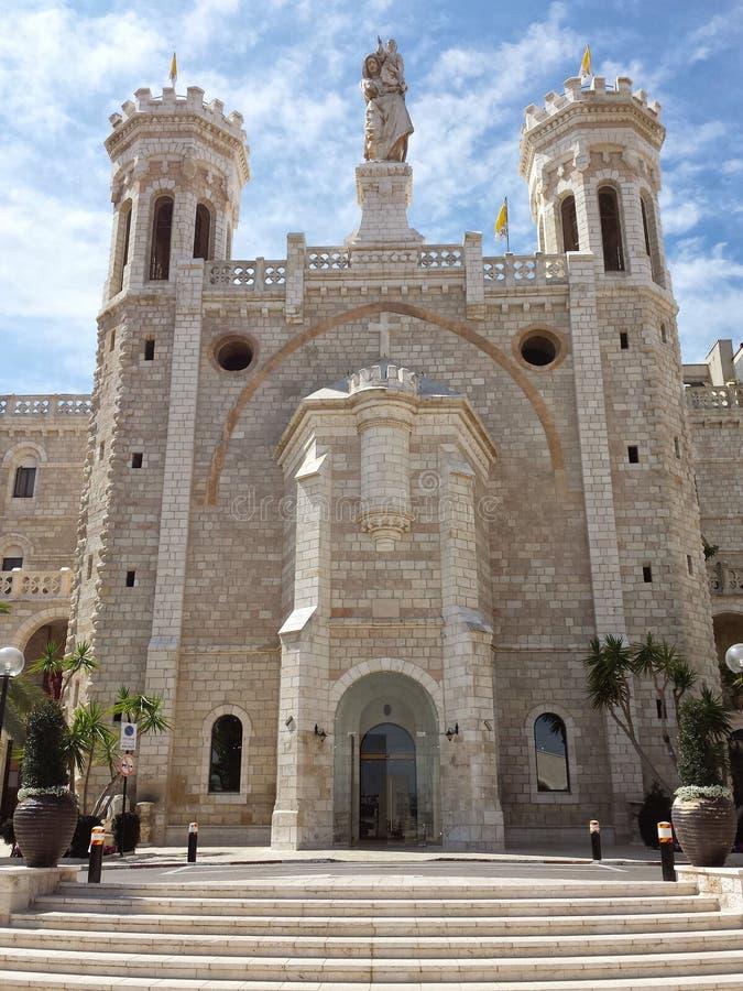 Instituto Notre Dame Jerusalem de Pontificial fotografia de stock