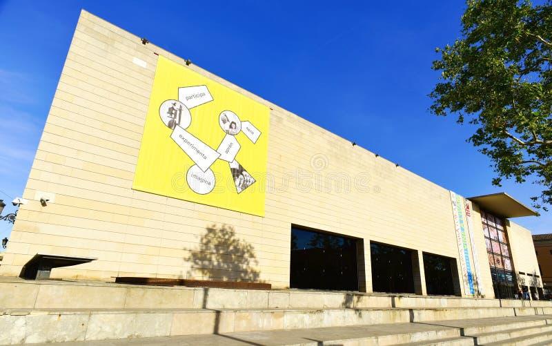 Instituto Valenciano De Arte Moderno à Valence, Espagne photographie stock