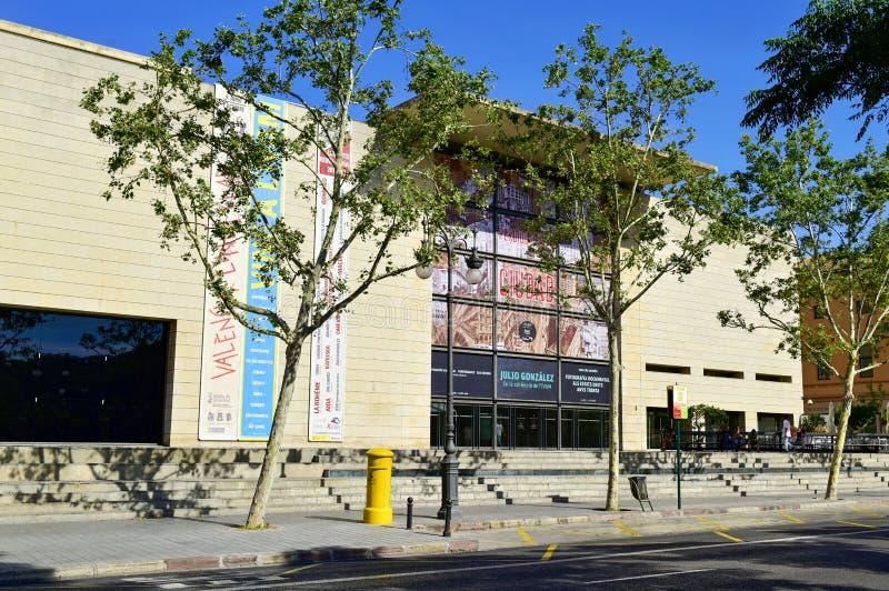 Instituto Valenciano De Arte Moderno à Valence, Espagne images libres de droits