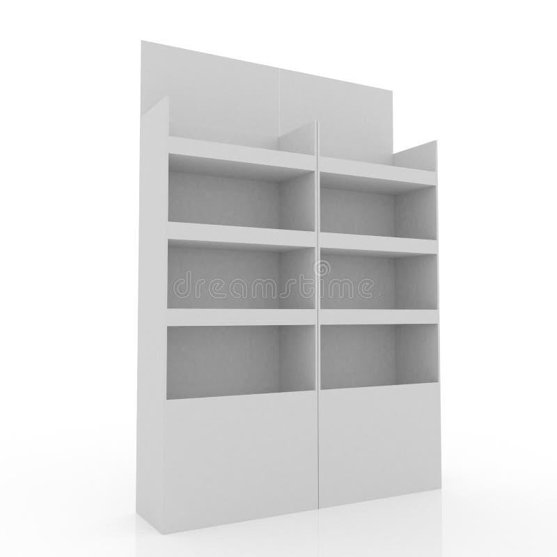 Instore pokazu biel obrazy stock