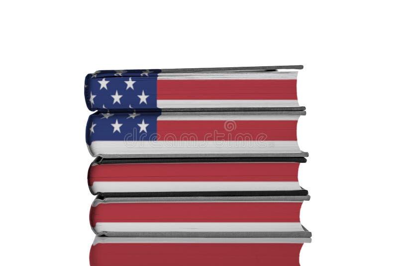 Instrução americana fotografia de stock
