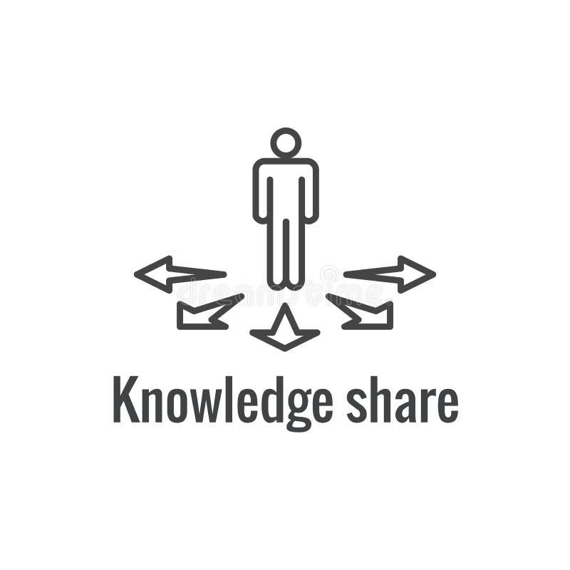 Instrução da conformidade - ícones de teste com os estudantes de ensino do trabalhador do instrutor ilustração stock