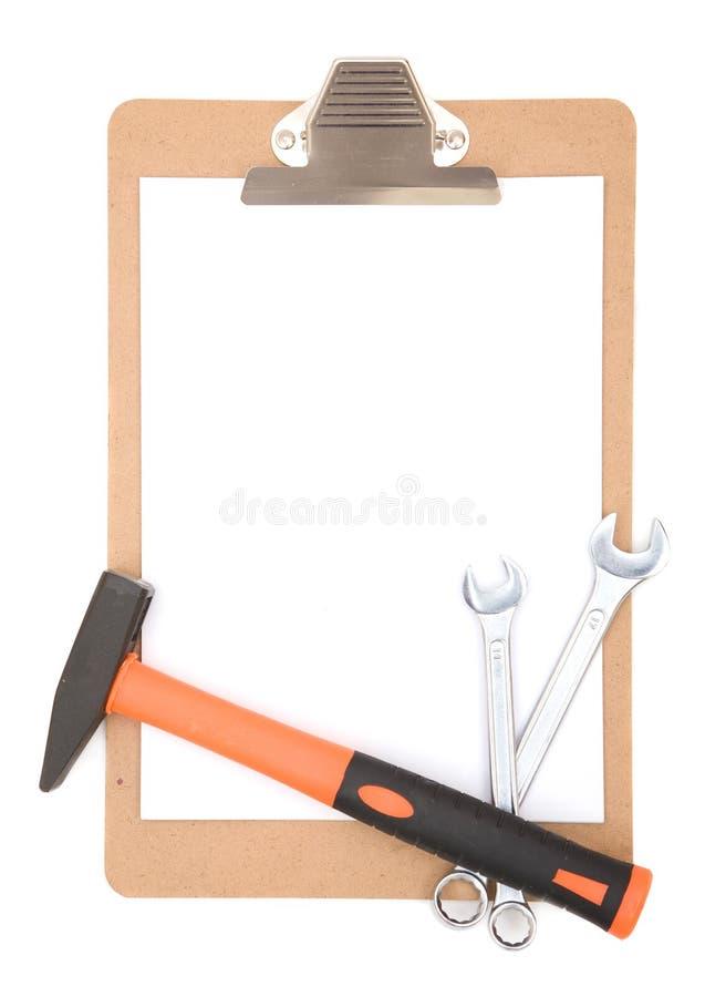 Instrução da construção fotografia de stock royalty free
