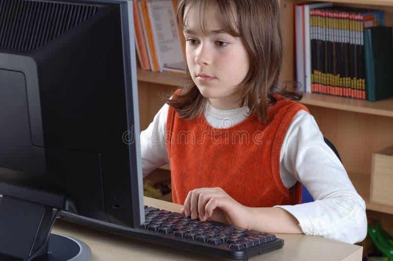 Instrução de computador imagens de stock