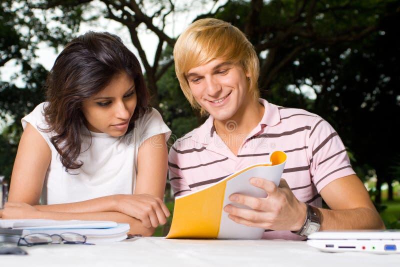 Instrução de faculdade imagens de stock royalty free