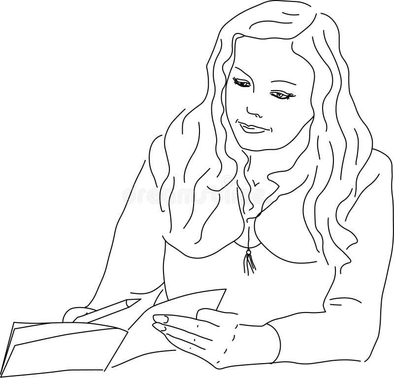 Instruction royalty free illustration