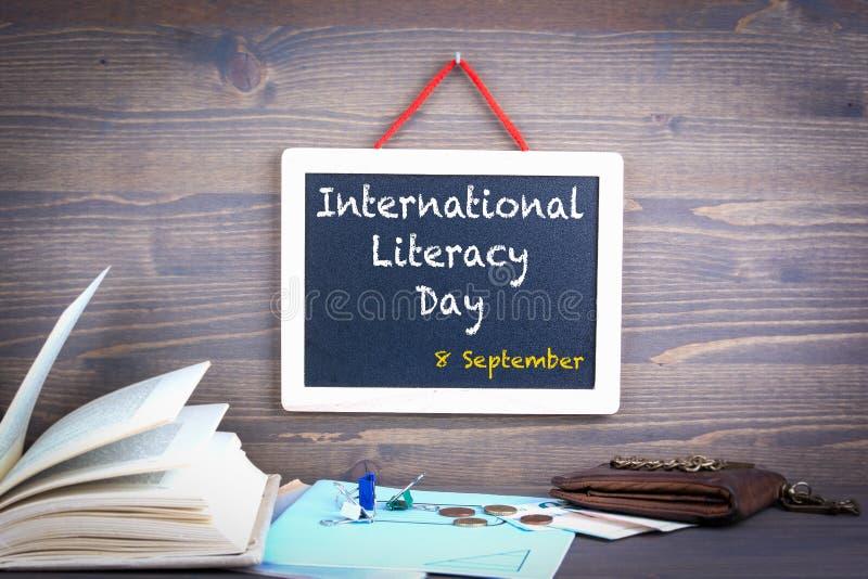 Instruction jour 8 septembre international image stock