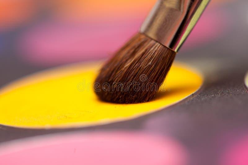 Instruction-macro d'ombre d'oeil photos stock