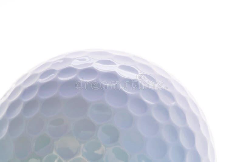 Instruction-macro de bille de golf photographie stock