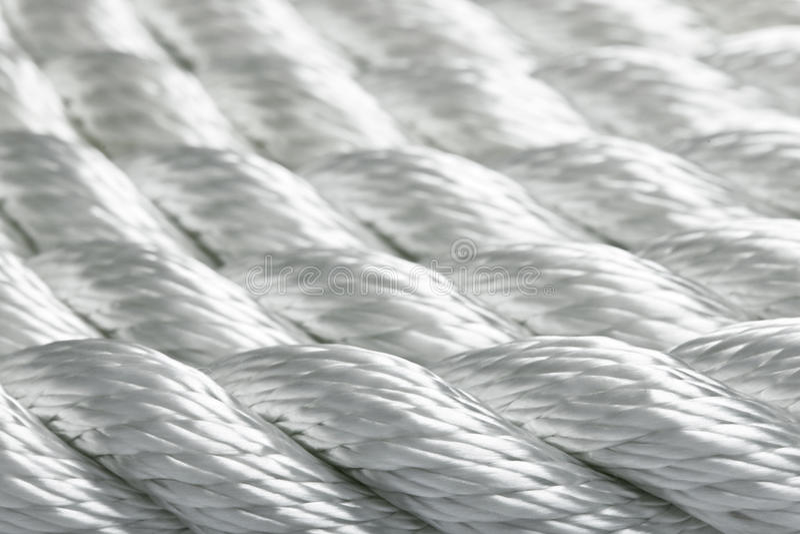 Instruction-macro de corde images libres de droits