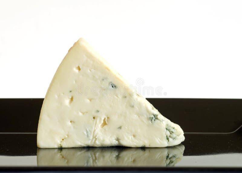 instruction-macro de fromage bleu photographie stock