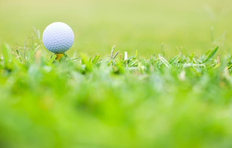 Instruction-macro de golf photo libre de droits