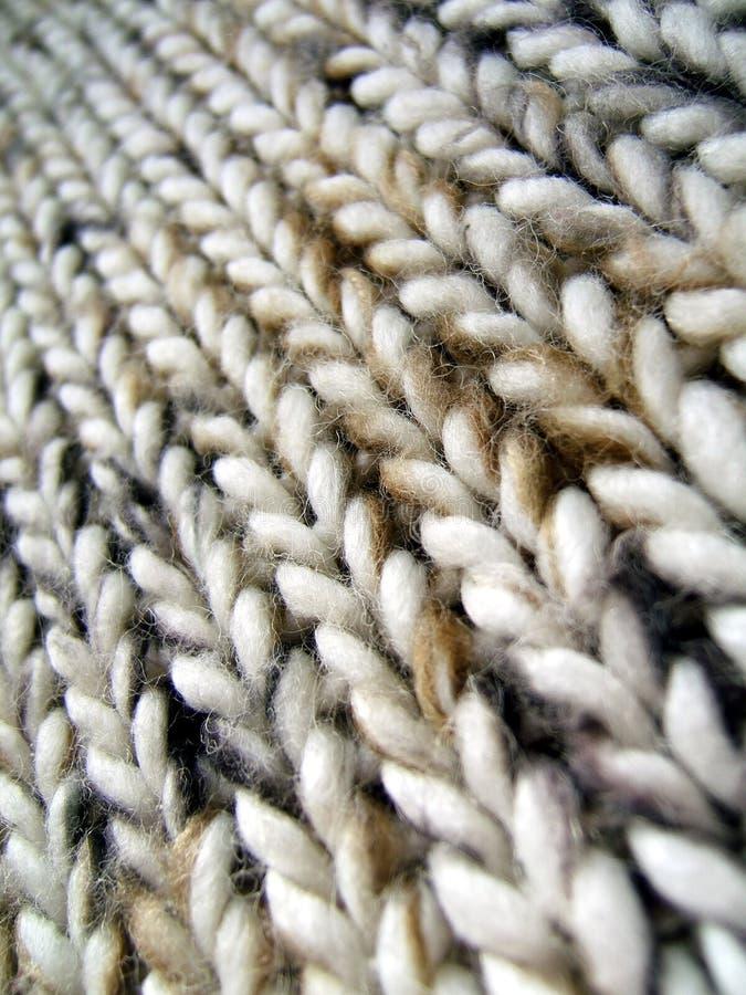 Instruction-macro de laines images stock