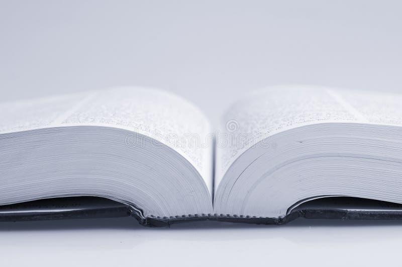 Macro de livre image libre de droits