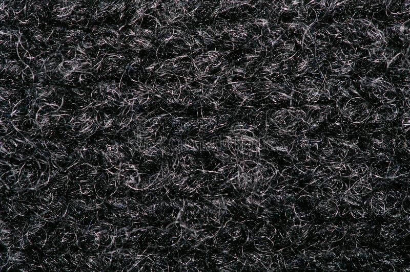 Instruction-macro de tissu de laines photos stock