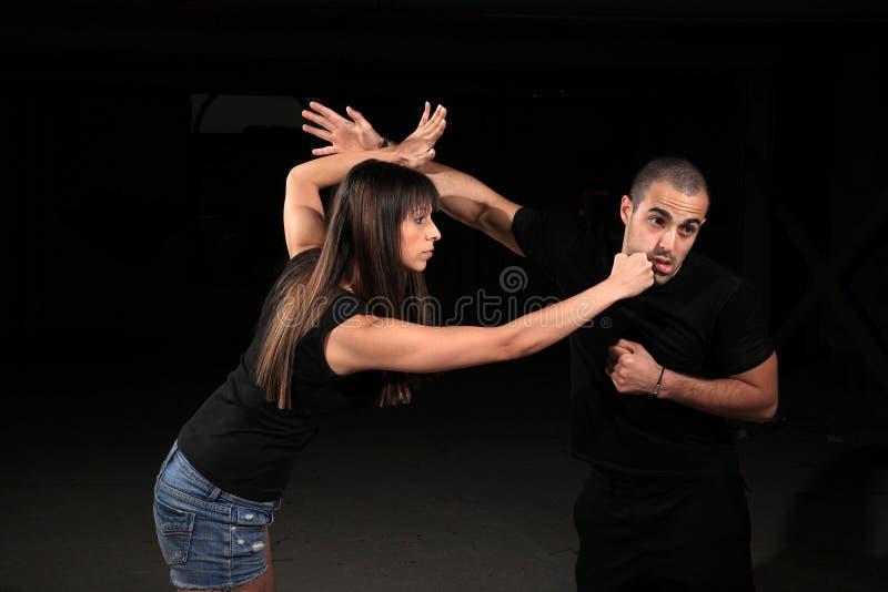 Instructor de los artes marciales foto de archivo libre de regalías