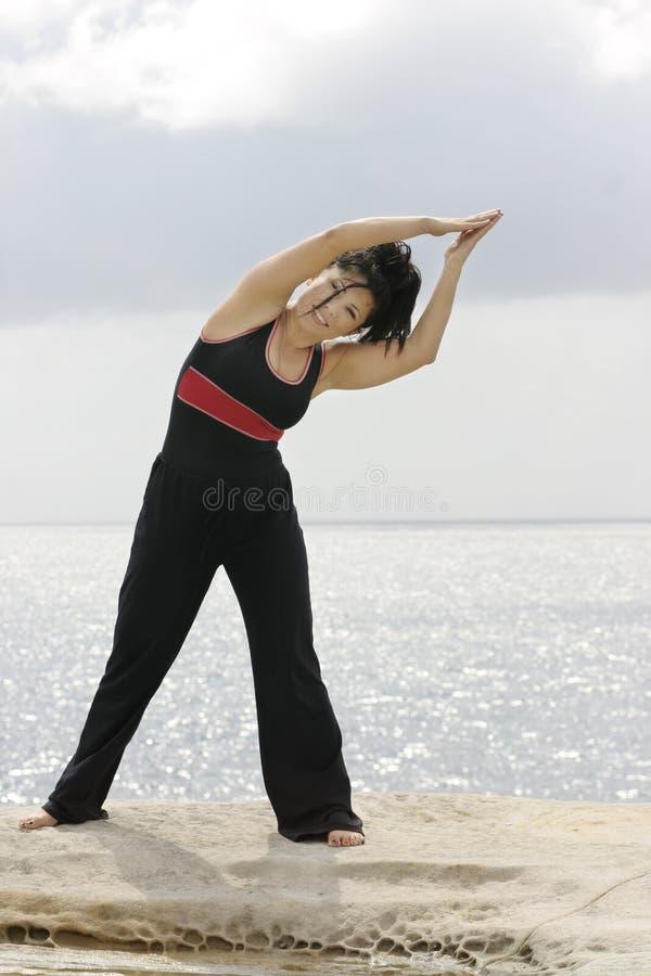 instruktor fitness zdjęcia stock