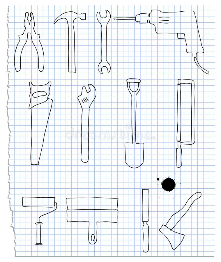 Download Instrument stock vector. Image of clamp, instrument, business - 21712139