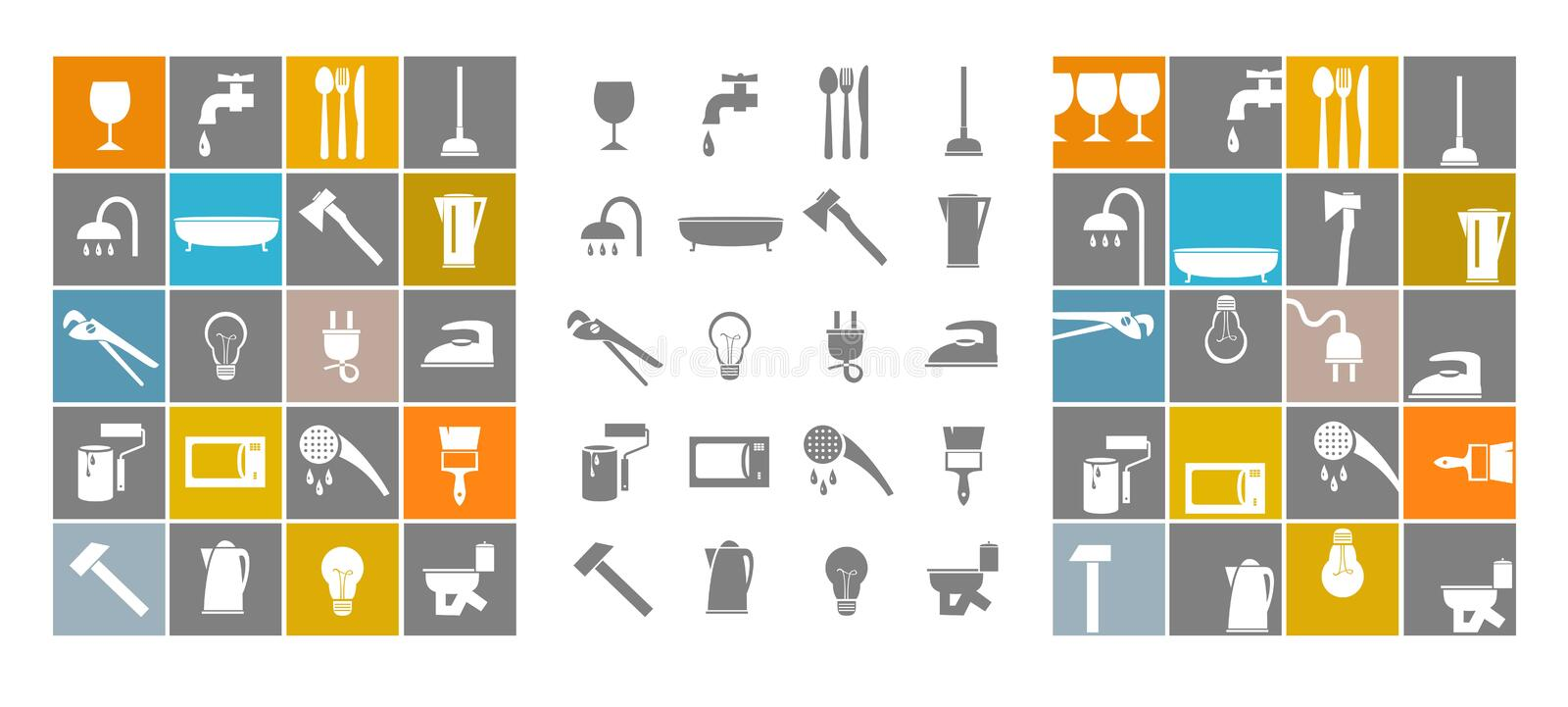 Download Instrument stock vector. Image of icons, category, brush - 26172179