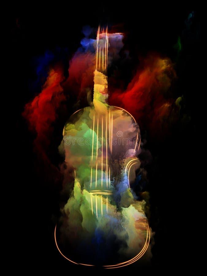 Instrument de la musique illustration libre de droits